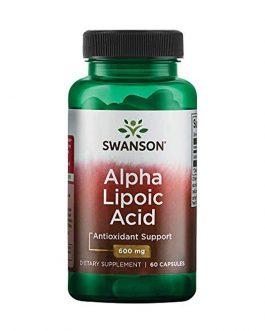 Swanson Alpha Lipoic 600mg